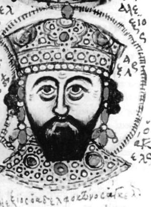 Mutinensis gr. 122 (XV w.) – Piętnastowieczne przedstawienie cesarza Aleksy III Angelosa