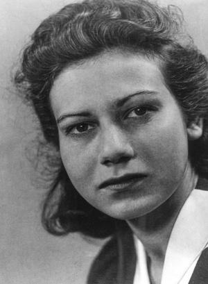Felice Schragenheim w 1941 roku. Trzy lata przed tym, jak została więźniarką KL Gross-Rosen w filii FAL Kurzbach, zdjęcie ze zbiorów autorki, prawa zastrzeżone
