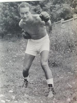 Tadeusz Pietrzykowski, fot. archiwum rodzinne Eleonory Szafran, prawa zastrzeżone.