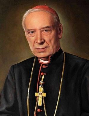 Portret kard. Stefana Wyszyńskiego (autor: Zbigniew Kotyłło, fot. Zkoty, udostępniono na licencji: [CC-BY-SA-4.0](https://creativecommons.org/licenses/by-sa/4.0/deed.en))