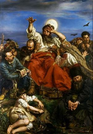 """""""Wernyhora"""", obraz Jana Matejki, domena publiczna"""