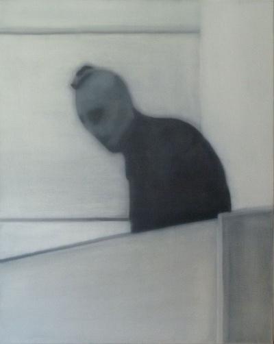 """Terrorysta"" (2013), obraz olejny na płótnie autorstwa belgijskiego artysty Xaviera Tricota Fot. JoJan, [CC BY-SA 3.0](https://creativecommons.org/licenses/by-sa/3.0/deed.pl)"