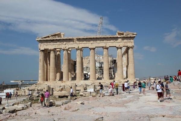 Akropol w Atenach (fot. J. Jagodziński).