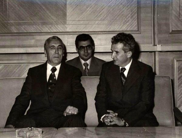 Edward Gierek i Nicolae Ceaușescu w 1976 roku