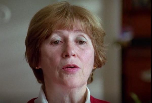 Bella Tovey swoje świadectwo złożyła przez USHMM. Opowiedziała o tragedii, która się przytrafiła jej i jej koleżankom po tym, jak trafiły do obozów pracy Schmelta, potem filii KL Gross-Rosen, skąd doszły do Bergen-Belsen, zdjęcie ze zbiorów autorki, prawa zastrzeżone