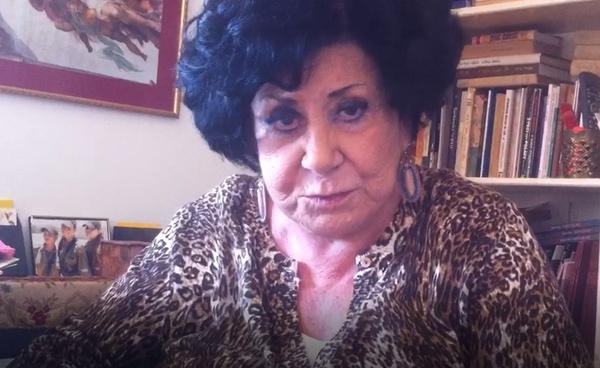 Ruth Eldar u schyłku życia. Zdjęcie otrzymane dzięki uprzejmości Karoliny Mints, Polki mieszkającej w Izraelu, która przyjaźniła się w Rutką,  w zbiorach autorki, prawa zastrzeżone