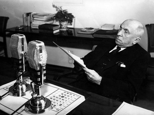 Emil Hácha w 1938 roku
