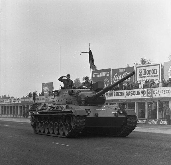 Czołg Leopard 1, fot. Bundesarchiv, B 145 Bild-F029230-0010 / Engelbert Reineke, na licencji [CC BY-SA 3.0 DE](https://creativecommons.org/licenses/by-sa/3.0/de/deed.en)