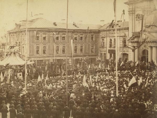 Historia: Wilno w 1888 roku (domena publiczna)