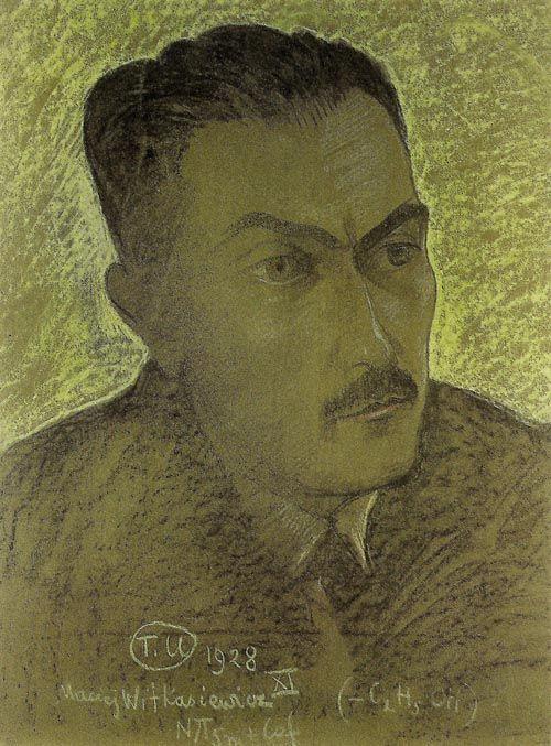 Tadeusz Boy-Żeleński na obrazie Witkacego