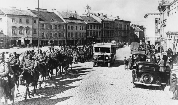 Wkroczenie Sowietów do Wilna, 19 września 1939 roku