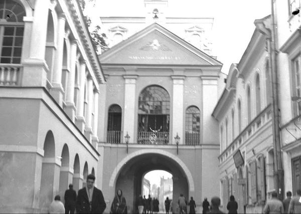 Ostra Brama w Wilnie, lata trzydzieste (fot. NAC)