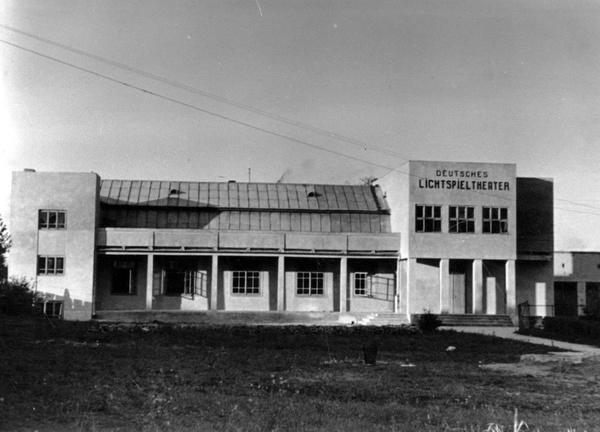 Kino w Hrubieszowie tylko dla Niemców (fot. NAC)