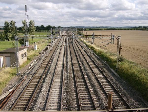 Miejsce, w którym został zatrzymany napadnięty pociąg, fot. Sealman, na licencji [CC BY-SA 3.0](https://creativecommons.org/licenses/by-sa/3.0/deed.pl)