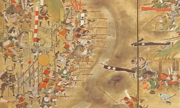 Bitwa pod Nagashino, autor nieznany, XVIII w., domena publiczna