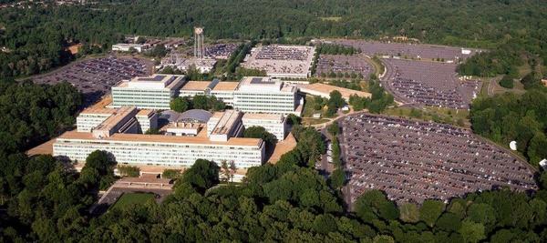 Siedziba CIA w Langley, Virginia (fot. Carol M. Highsmith)