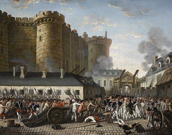 Zdobycie Bastylii, 14 lipca 1789 r. (domena publiczna)
