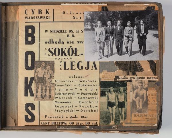 Kronika prowadzona przez Tadeusza Pietrzykowskiego (fot. Archiwum rodziny Tadeusza Pietrzykowskiego)