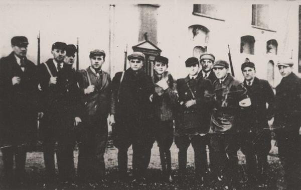 Członkowie Selbstschutzu z Łobżenicy (domena publiczna)