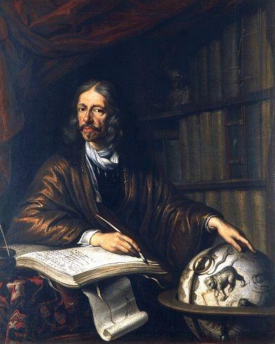 Jan Heweliusz, portret pędzla Daniela Schultza (domena publiczna)