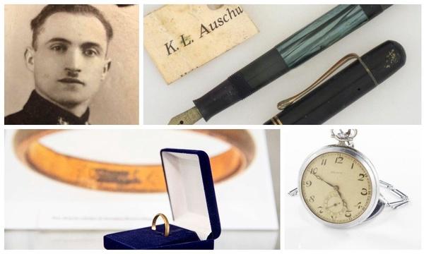 Pamiątki po więźniach niemieckich nazistowskich obozów koncentracyjnych (fot. Centrum Informacji o Ofiarach II Wojny Światowej IPN)