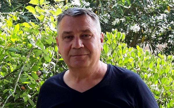 "Robert F. Barkowski, autor książki ""Rugia 1168"""