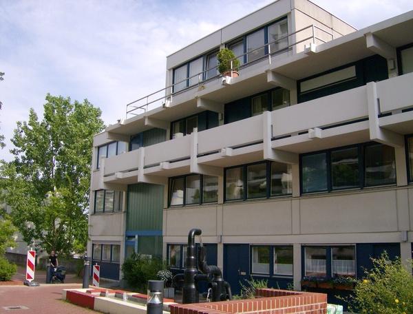 Budynek, w którym była zakwaterowana (a w trakcie zamachu przetrzymywana) reprezentacja olimpijska Izraela. Fot. ProhibitOnions, [CC BY-SA 3.0](https://creativecommons.org/licenses/by-sa/3.0/deed.pl)