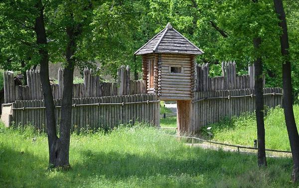 "Skansen Archeologiczny ""Karpacka Troja"" w Trzcinicy (fot. Silar, [CC BY-SA 4.0](https://creativecommons.org/licenses/by-sa/4.0/))"