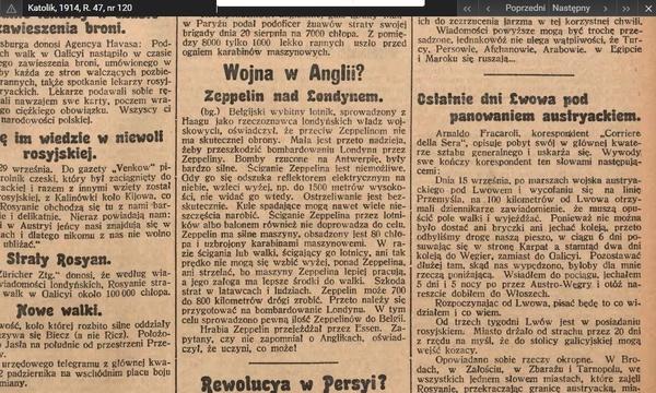 """""""Katolik"""", 1914, R. 47, nr 120"""