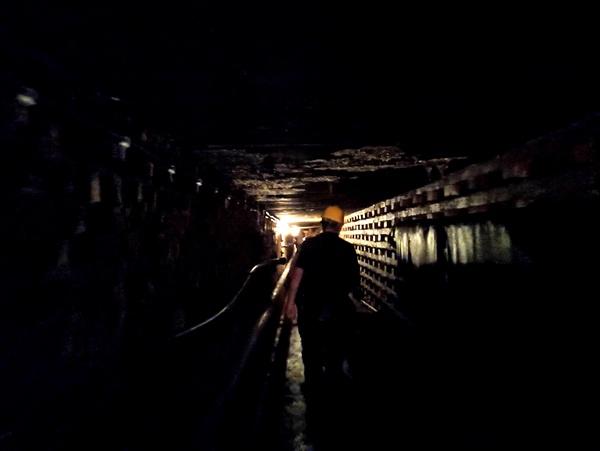 Podziemia Pałacu Kawalera (fot. M. Mikrut-Majeranek)