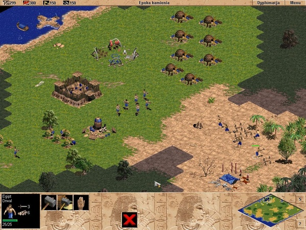 """""""Age of Empires"""", screen z gry"""