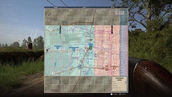 """""""Hell Let Loose"""" –  na mapie taktycznej po przybliżeniu znajduje się naprawdę wiele ważnych informacji, warto nauczyć się ją czytać"""